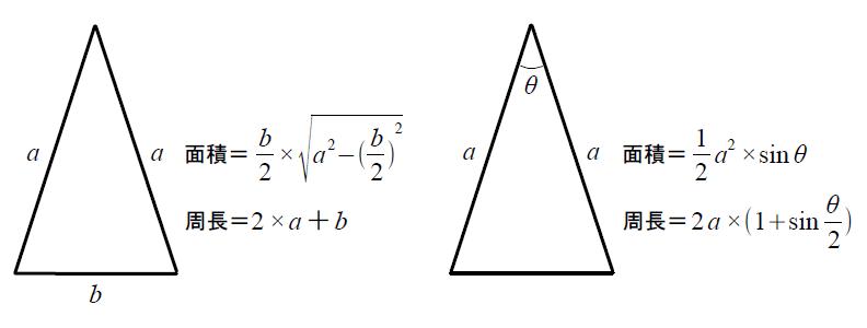 二等辺三角形 - 【ゆるゆるプログラミング】